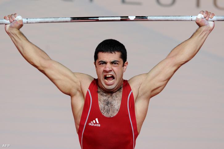 Az olimpiai bronzérmétől megfosztott Tigran G. Martirosyan