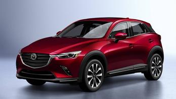 Erősebb és takarékosabb lesz a Mazda CX-3