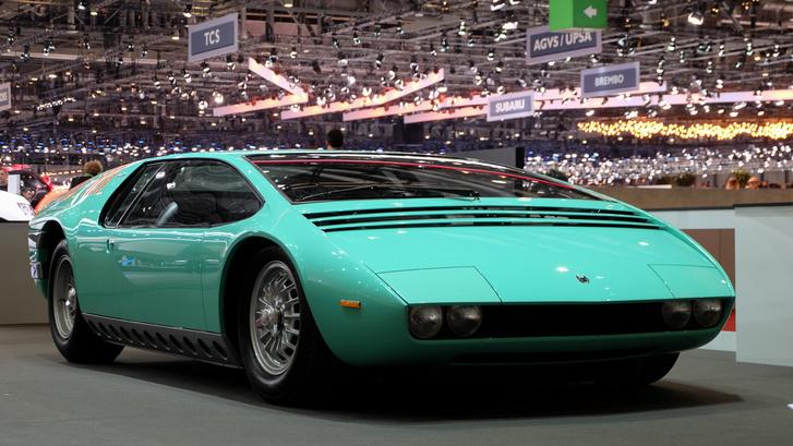 Giugiaro legelső saját autója