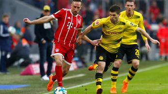 A Bayern München földbe döngölte a Dortmundot