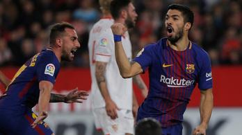 A Barcelona egy perc alatt feltámadt, 30 bajnokin veretlen