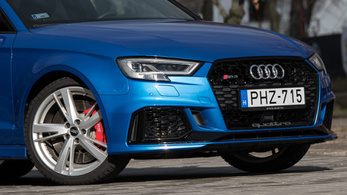 TESZT: Audi RS3 – 2018.