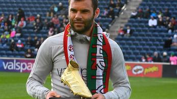Nikolics átvette az amerikai Aranycipőt, aztán gólt lőtt