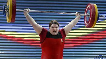 Európa-bajnok a súlyemelő Magát Krisztina