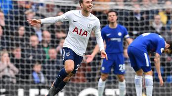 Idegenben vágott hármat a Tottenham a Chelsea-nek