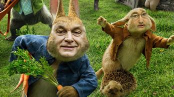 Zöld erdőben gázszerelő, tolvaj Viktor gyere elő