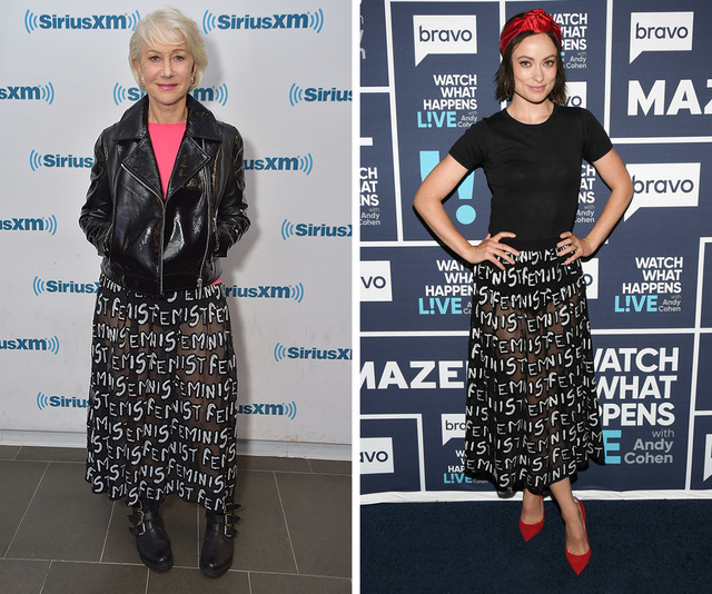Helen Mirren vs Olivia Wilde