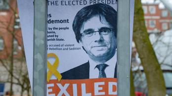 A német ügyészség kiadatási őrizetbe helyezte a volt katalán elnököt