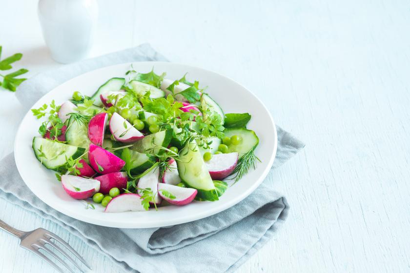 Gyors tavaszi reteksaláta: finom, és tele van vitaminnal