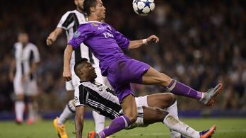Cristiano Ronaldo óriási ollóval verte a Juventus