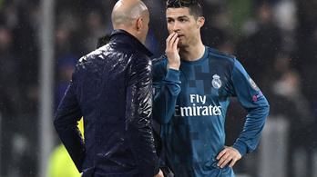 Zidane és C. Ronaldo egymásra licitálnak a rekordokkal