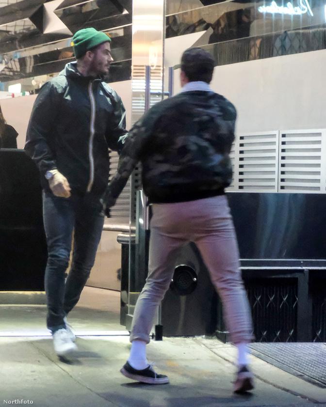 Még a húsvéti hosszú hétvége elején volt, hogy a Beckham család két legidősebb férfitagja közös programra ment New Yorkban.