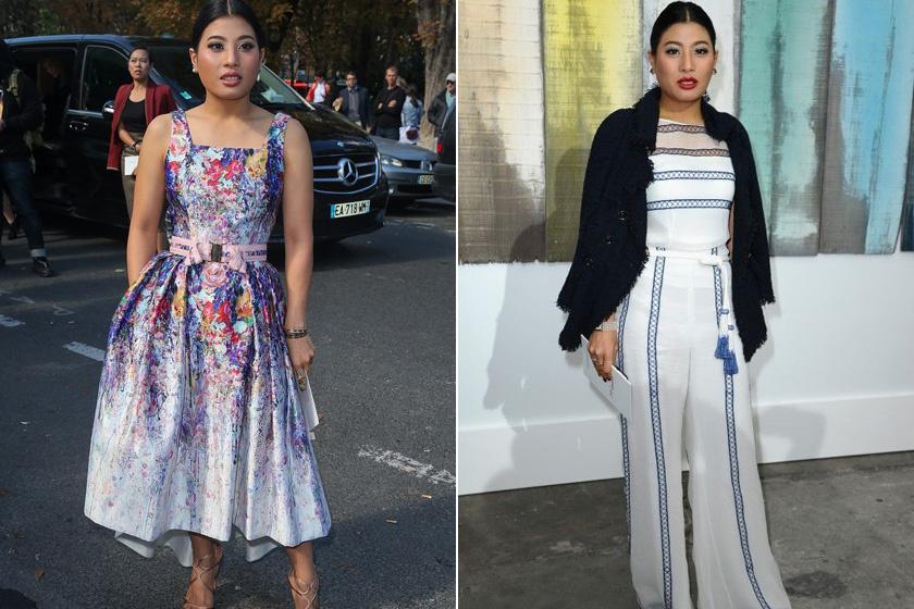 A thaiföldi hercegnő, Sirivannavari Nariratana kicsi kora óta divattervezőnek készült, és Pierre Balmainnal is álmodott meg ruhákat. Ez a stílusán is meglátszik: egyedi, különleges, extra trendi, nőies.