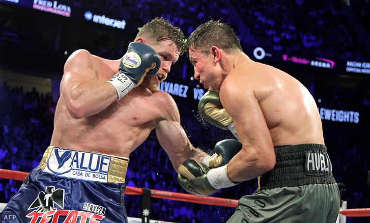 Álvarez és Golovkin meccse 2017. szeptember 16-án Las Vegasban
