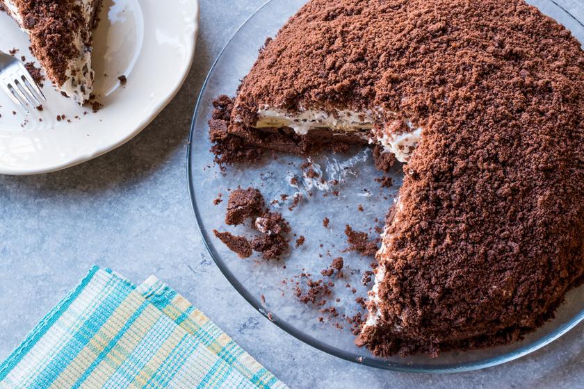 Krémes, banános vakondtúrás torta - Egyszerűbb, mint gondolnád