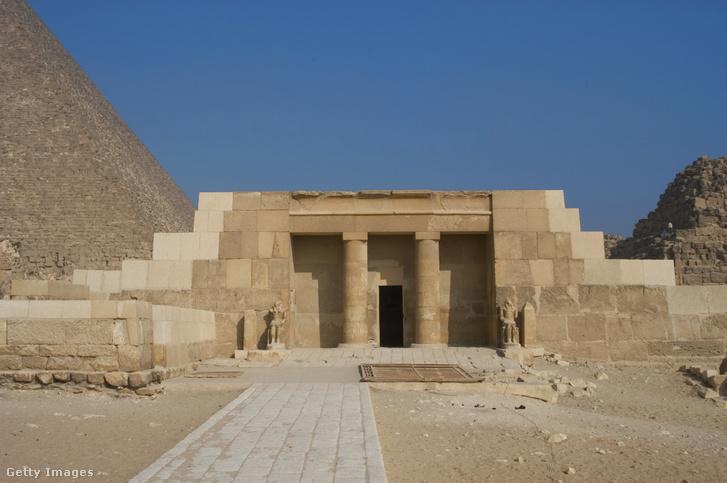 Egyiptomi masztaba (Képünk illusztráció)