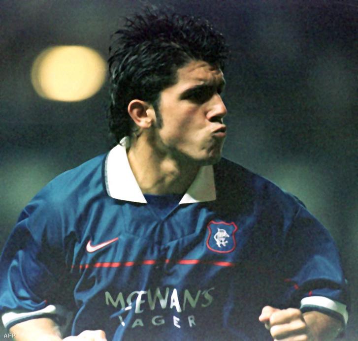Gattuso 1998-ban a Glasgow Rangers játékosaként
