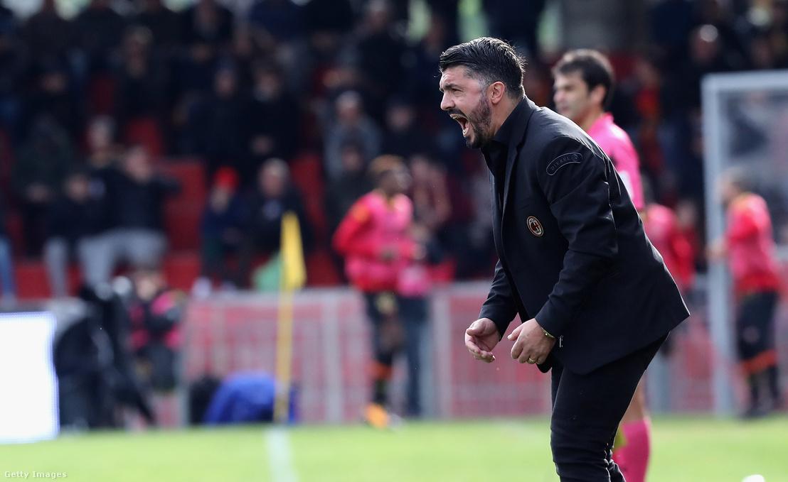 Gattuso a Benevento ellen játszott meccsen