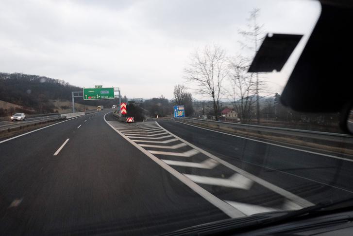 Már a cseh határon