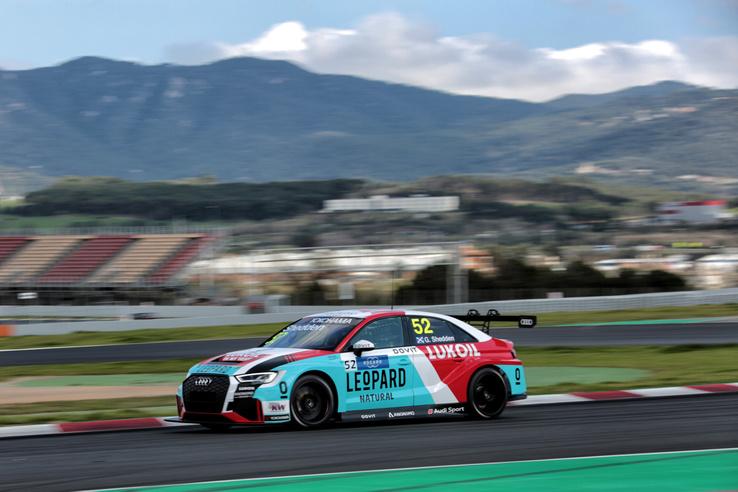 A Leopard Lukoil egyik Audija, ők nagyon veszélyesek lehetnek a szezonban