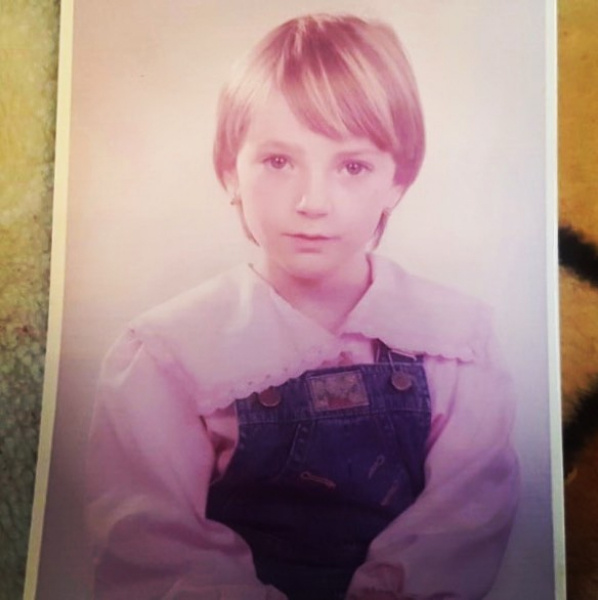 Így nézett ki Borbély Alexandra kislányként - a fotón csak ötéves volt.