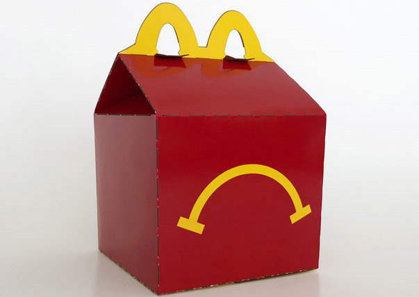 Carol May: Unhappy Meal (forrás: thelocal.ch)