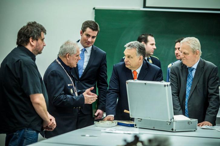 Orbán Viktor és Tarlós István a Ludovika Campus átadásán