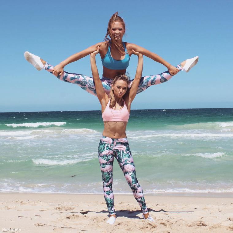Nos, ennek a fő oka, hogy a csajok csinosak, ikrek és egyébként pedig elképesztően profi akrobaták.