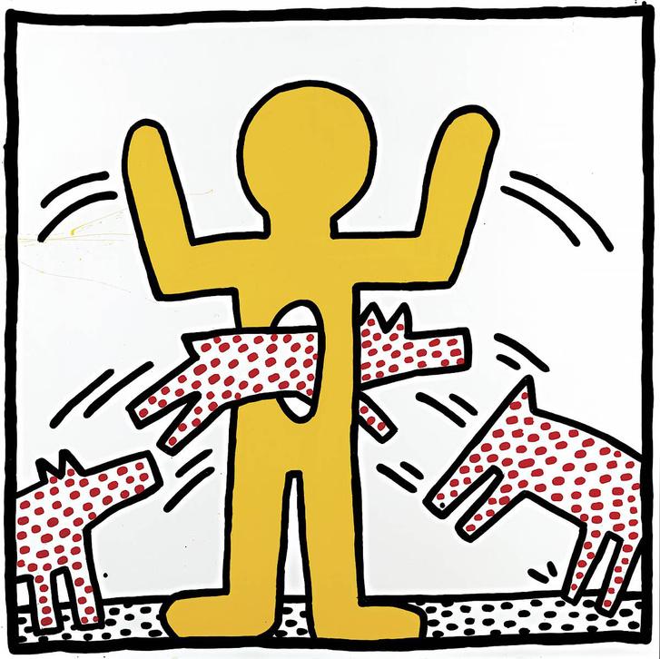 Keith Haring: Cím nélkül. 1982