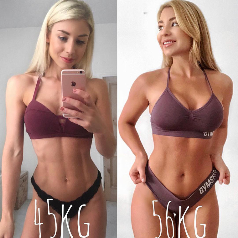 Ebben a lapozgatóban több olyan nőt is mutatunk, akik bátran vállalják, hogy mióta egészségesen táplálkoznak és rendszeresen mozognak, többet mutat a mérleg.