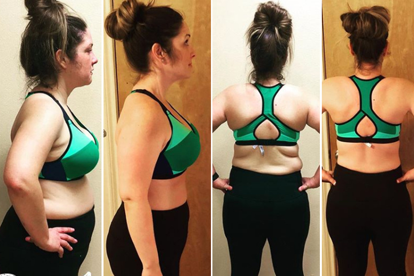 Jackie Gist táplálkozásszakértőtől kapott bevásárlólistát, étrendet, recepteket, melyek közül főleg az egészséges összetevőkkel teli, laktató turmixokat szerette meg. 69 nap alatt 11 kilót fogyott.