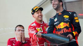 99 százalék, hogy Ricciardo váltja Räikkönent
