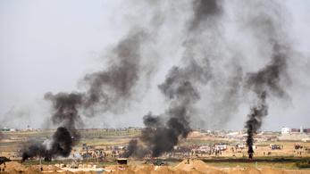 Megint elszabadultak az indulatok a gázai tüntetéseken