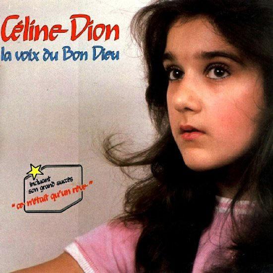 Így festett a 13 éves Céline Dion élete legelső albumborítóján 1981-ben. Angyali arca volt.