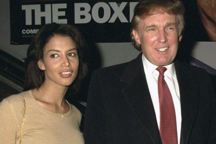Donald Trump egykori kedvesével, Kara Younggal - miatta állt a bál.