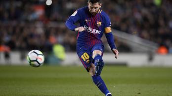 Messi mesterhármasával 38 éves rekordot állított be a Barcelona