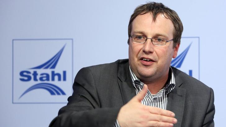 Oliver Krischer, a Zöldek parlamenti frakciójának vezetője