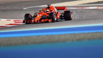 Vettel nyert, Räikkönen-dráma a Bahreini GP-n