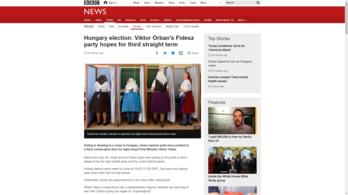 A magyar választásokra figyel a világsajtó