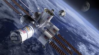 200 millió forint lesz egy éjszaka az űrhotelben
