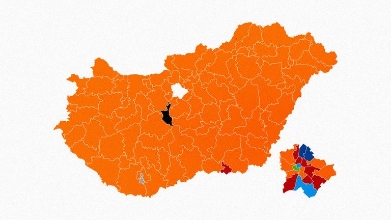 Narancsvidék újratöltve: a választások megyei eredményei