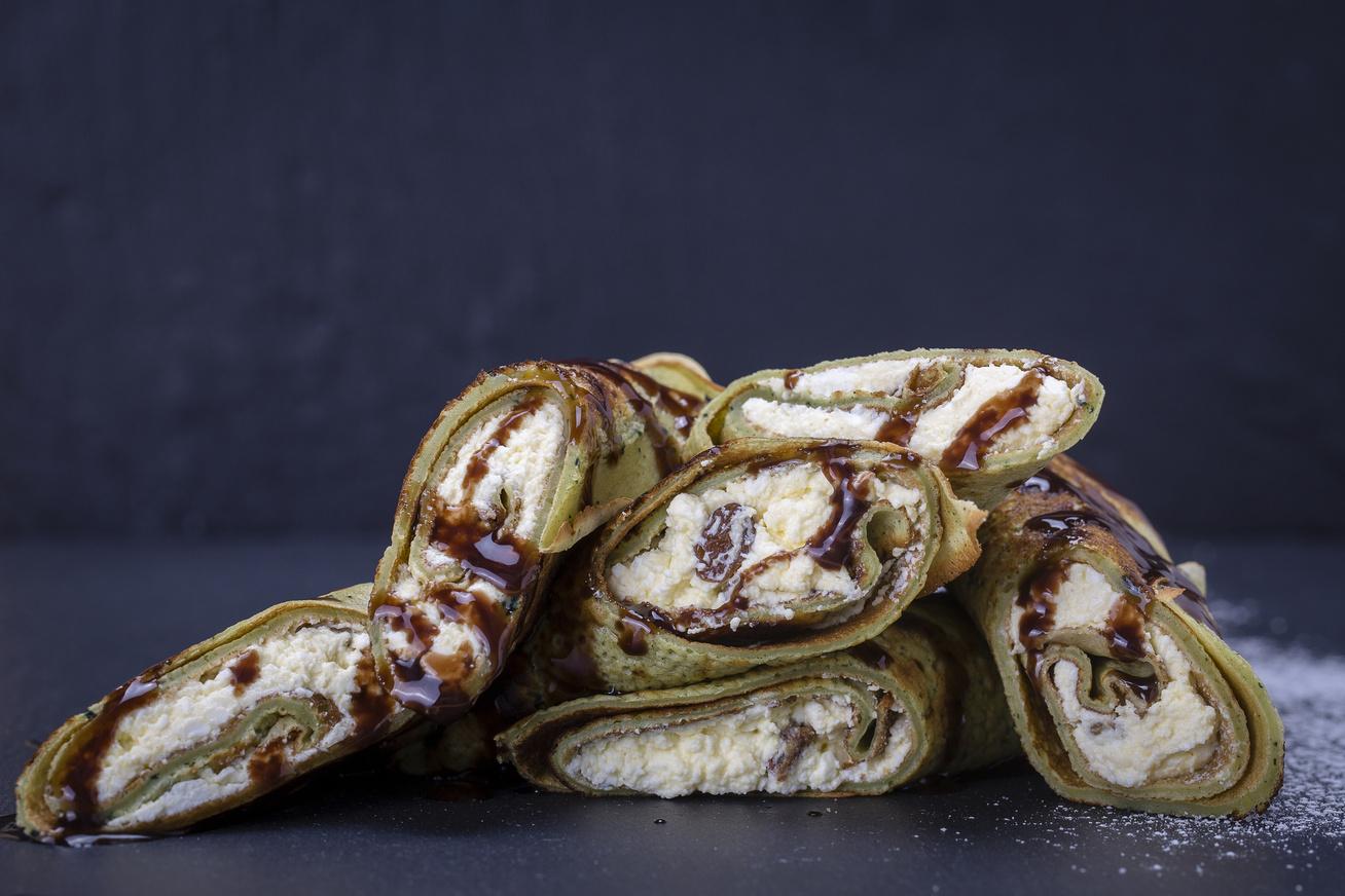 Mennyei, csokis-túrós palacsinta: a nagyi egyik legjobb receptje