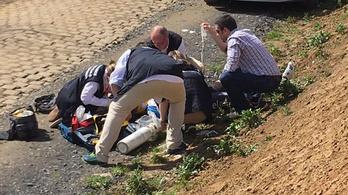 Meghalt a bringás, aki bukott a Párizs-Roubaix-n