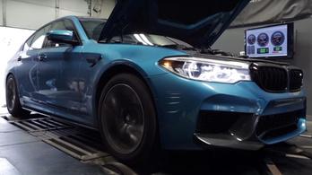 A BMW M5 erősebb, mint ígérték