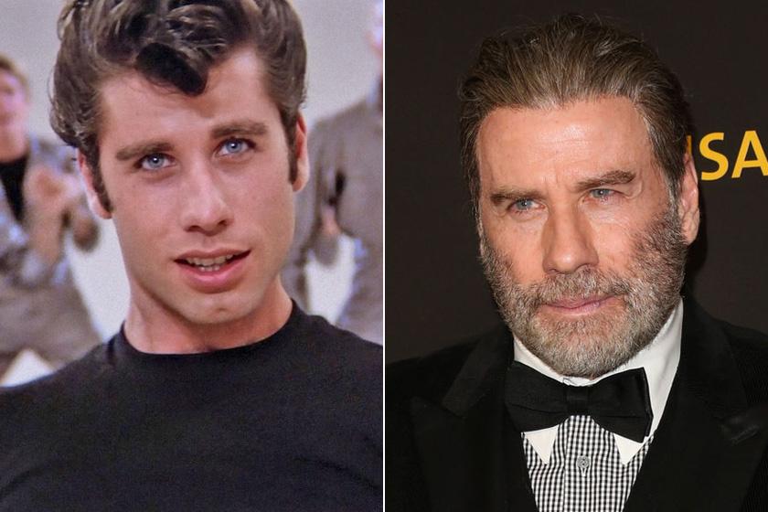 John Travolta alaposan megváltozott, mióta eljátszhatta a szívtipró Danny-t, azonban a karrierje máig felfelé ível. Olyan filmekben játszhatott, mint a Ponyvaregény, az Ál/Arc vagy a Hajlakk.