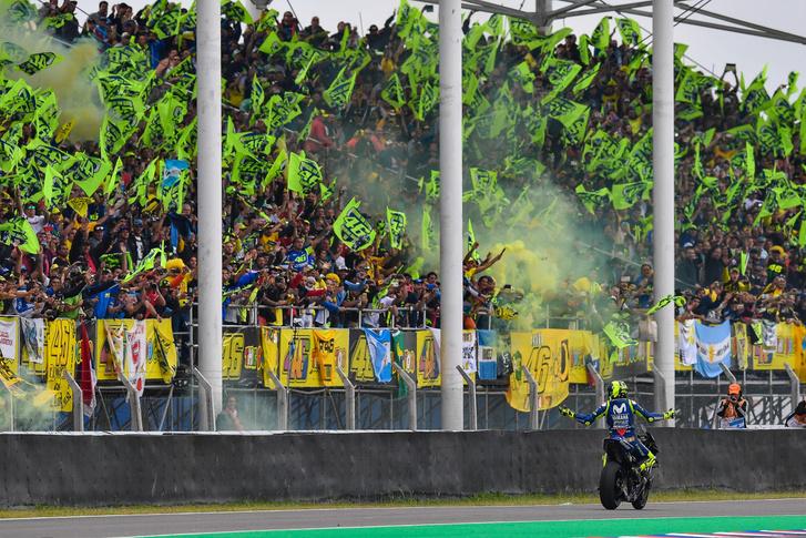 Rossi versenye elúszott, mégis mindenki őt ünnepelte