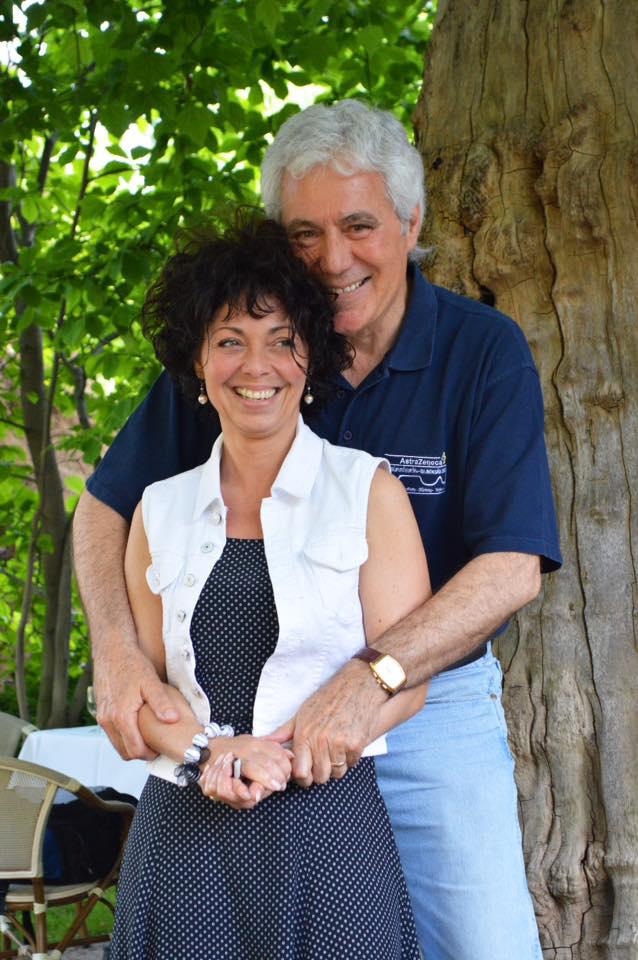 Kovács István és felesége, Sajgál Erika.