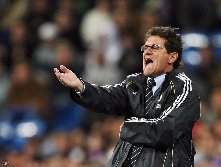 Fabio Capello a Real Madrid edzőjeként 2007-ben
