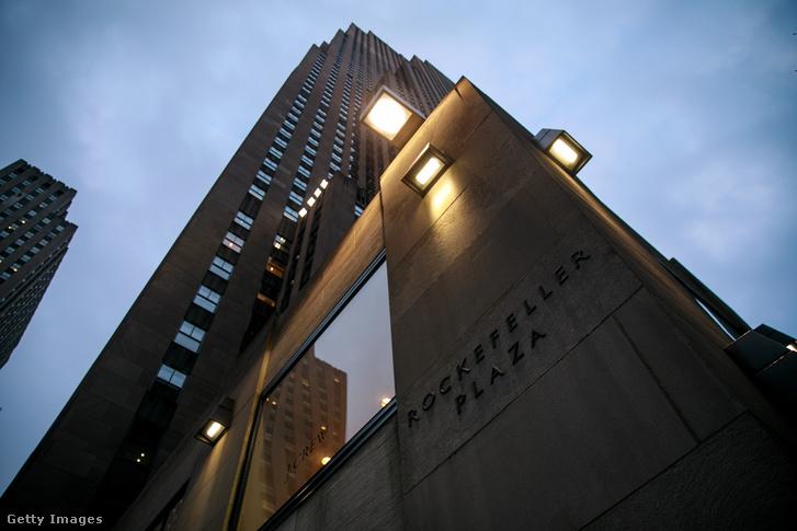 Rockefeller Plaza, ahol Michael Cohen irodája is található