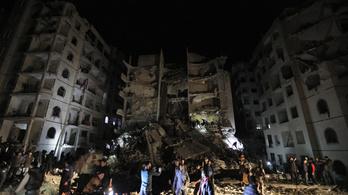 Felrobbant egy lakóház Idlíbben, sokan meghaltak